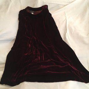 Vintage Marshall Fields Velveteen Formal Skirt